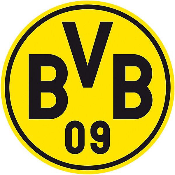 wandsticker bvb logo fu ballverein borussia dortmund. Black Bedroom Furniture Sets. Home Design Ideas