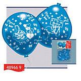 """Everts 10 шариков с рисунком """"Рождение малыша"""" (мальчик)"""