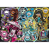 Puzzle 200 Teile - Monster High: Fashionably Fierce Jewels