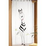 Gardine Zebra, schwarz/weiß, 245 x 140 cm, (1 Schal)