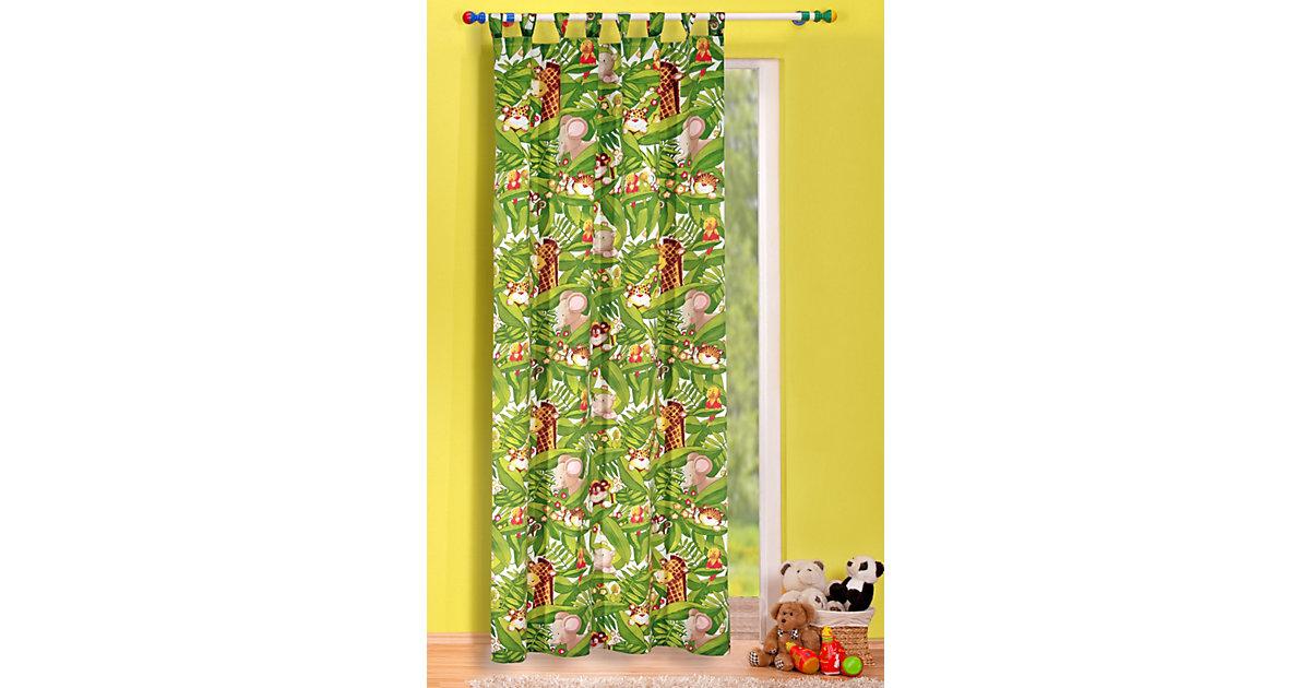 Vorhang Dschungel, grün, 245 x 135 cm, (1 Schal)