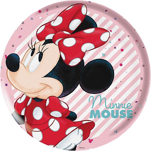 kindergeschirr melamin minnie mouse 3 tlg disney minnie. Black Bedroom Furniture Sets. Home Design Ideas