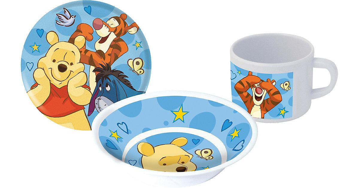 Kindergeschirr Winnie the Pooh Woodland 3-tlg., Melamin