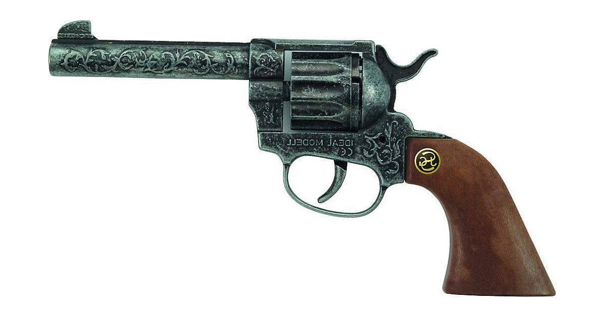 Western-Revolver Magnum antik-silber Jungen Kinder