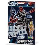 """Orbis Schablonen-Set """"Star Wars"""" III"""