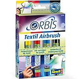 Orbis Textil Airbrush Farbpatronenset A