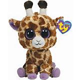 Beanie Boo Giraffe Safari, 15 cm