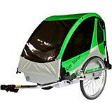 Fahrradanhänger Kid's Tourer M2, grün/silber