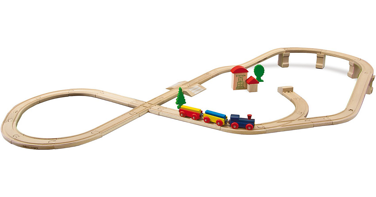 Bahn, Achter m. Hochstrecke, 45-t.