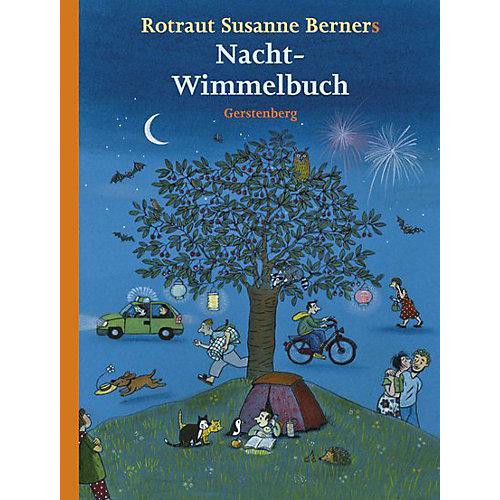 Buch - Nacht-Wimmelbuch, Midi-Ausgabe