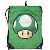 Nintendo Sporttasche Mushroom - grün