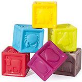 Набор игрушек для купания «Кубики»  А104925, Babymoov