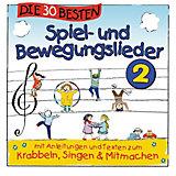 CD Die 30 Besten Spiel- und Bewegungslieder 2