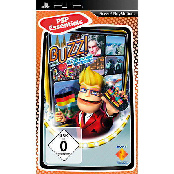 PSP Buzz! Deutschlands Superquiz - Essentials
