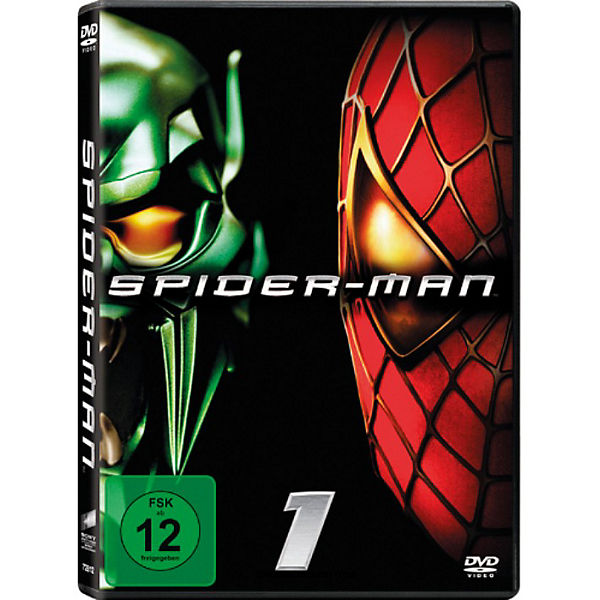DVD Spider-Man