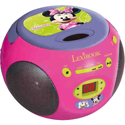 Minnie Mouse CD-Player mit Radio