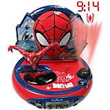 Spiderman Radiowecker mit Projektor
