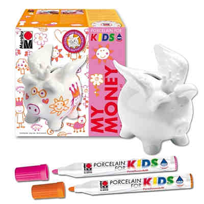 Porcelain For Kids Set My Money Girls