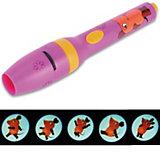 """Kindertaschenlampe mit Projektion """"Die Maus"""", pink"""