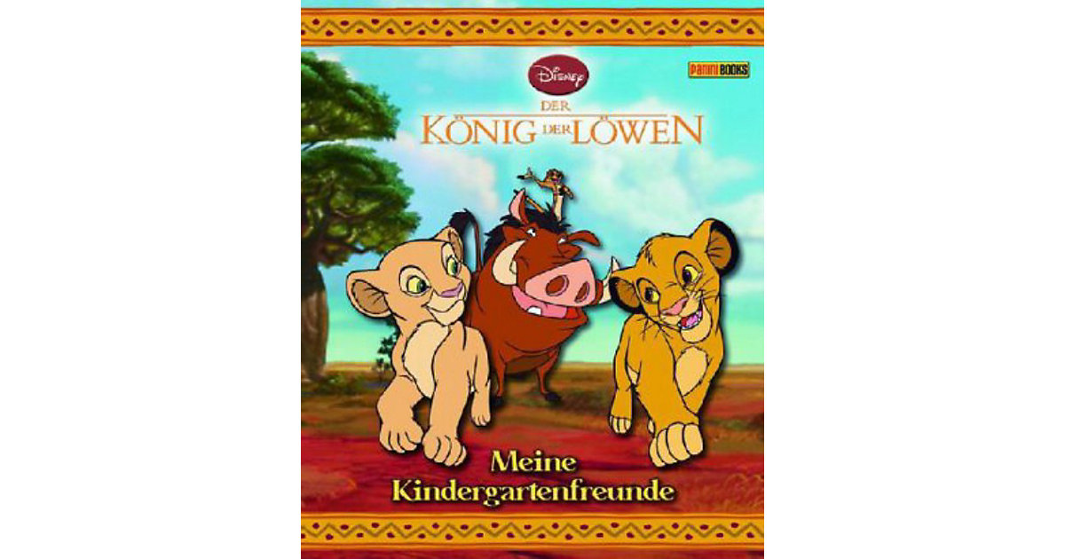 Buch - Der König der Löwen - Meine Kindergartenfreunde
