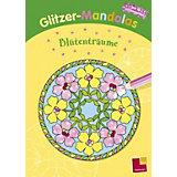 Glitzer-Mandalas. Blütenträume