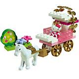 PlayBIG Bloxx - Hello Kitty Princess Kutsche