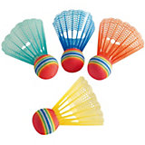Ersatzbälle für Badmintonset Fun, 4 Stück