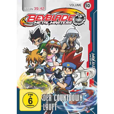 DVD Beyblade Metal Masters - Vol.10 - Der Countdown läuft