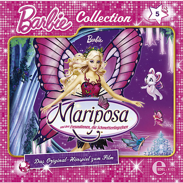 CD Barbie Collection 5 - Mariposa