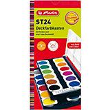 Deckfarbkasten, 24 Farben inkl. Deckweiß