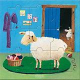 HABA 4271 Puzzle & Spiel - Wo sind Schaf & Co.?