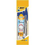 BIC Ручка  Кристал синяя 4 шт. в упаковке