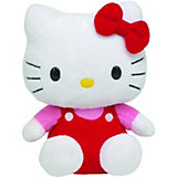 Hello Kitty Overall rot/pink klein, 15 cm