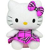 Hello Kitty Schottenrock pink klein, 15 cm
