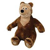 Мягкая игрушка Медведица, 28 см, со звуком, Маша и Медведь, МУЛЬТИ-ПУЛЬТИ