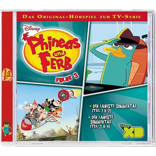 CD Phineas & Ferb - TV Serie 3