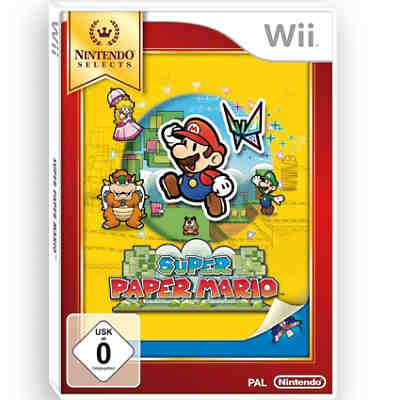 Wii Super Paper Mario - Nintendo Selects