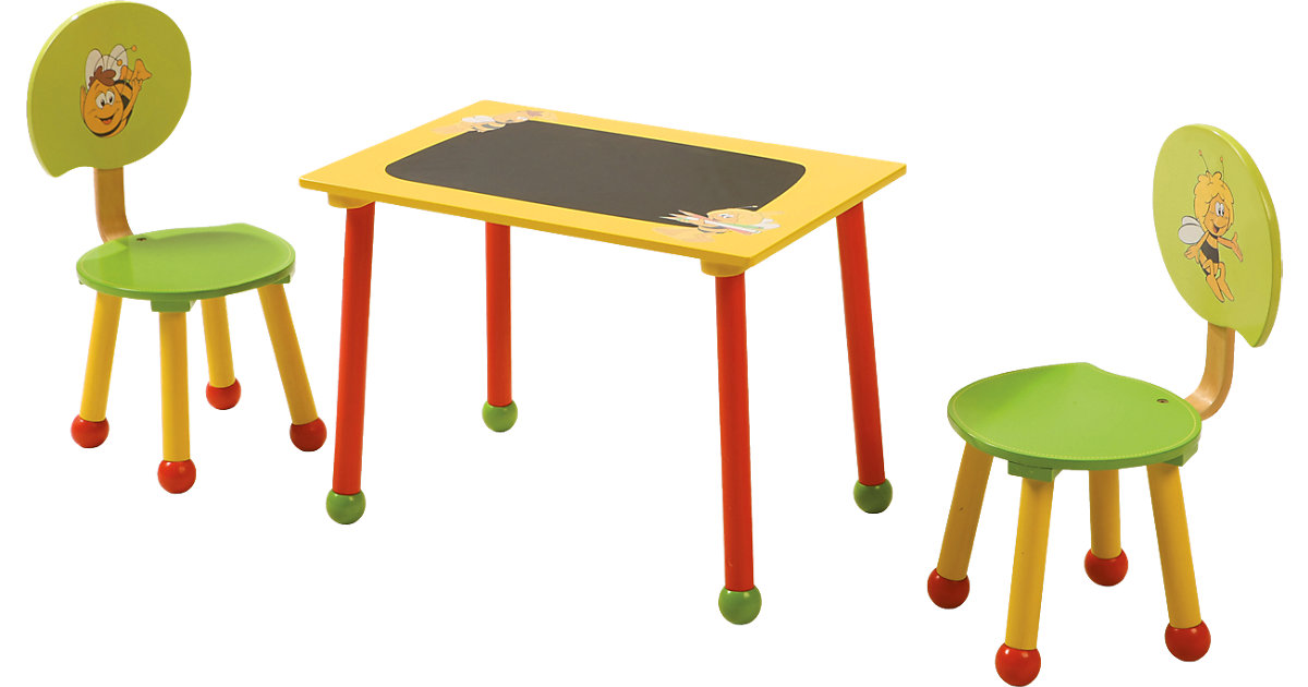 Kindersitzgruppe Biene Maja, 3-tlg.