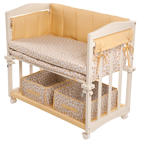 beistell stubenbett 4 in 1 komplett safari wei roba mytoys. Black Bedroom Furniture Sets. Home Design Ideas