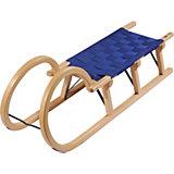 Holzschlitten Hörner Gurtsitz 110 cm