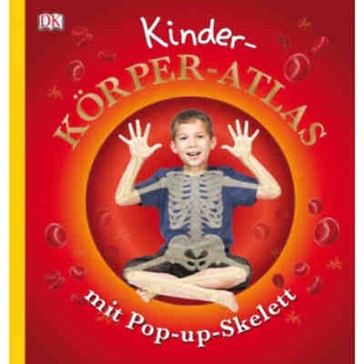 Kinder-Körper-Atlas, mit Pop-up-Skelett