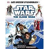 Star Wars The Clone Wars - Das große Stickerbuch