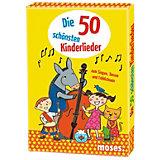 Die 50 schönsten Kinderlieder zum Singen, Tanzen und Fröhlichsein, Kartenset