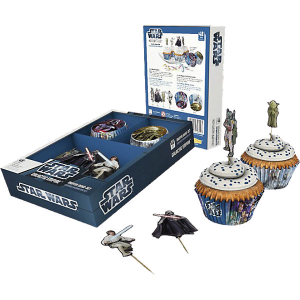 Muffin Deko-Set Galactic Empire 48-tlg.