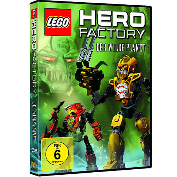 DVD LEGO Hero Factory: Der wilde Planet