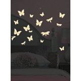 """Наклейки для декора """"Бабочки и стрекозы"""" (светятся в темноте)"""