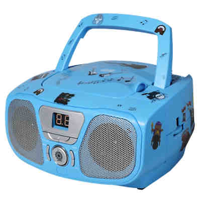 CD-Player mit Radio CD 46 Kids blau