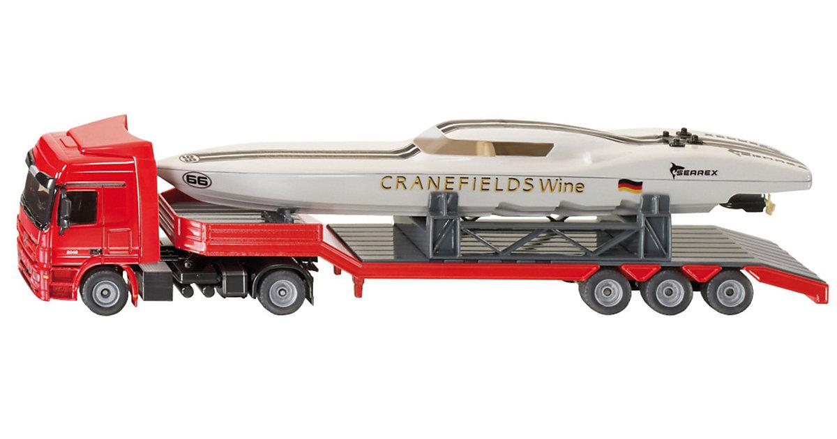 SIKU 3936 LKW mit Power Boat 1:50