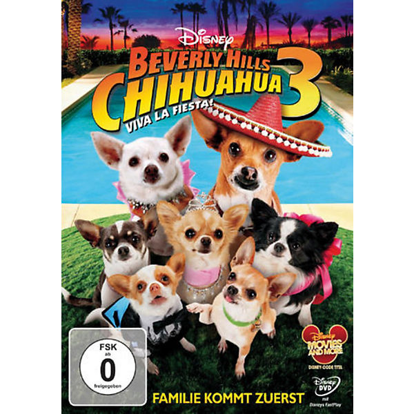DVD Beverly Hills Chihuahua 3