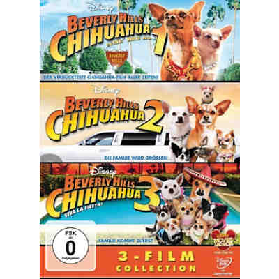 DVD Beverly Hills Chihuahua 1-3